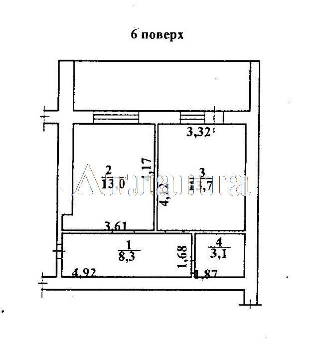 Продается 1-комнатная квартира в новострое на ул. Коралловая — 40 050 у.е. (фото №2)