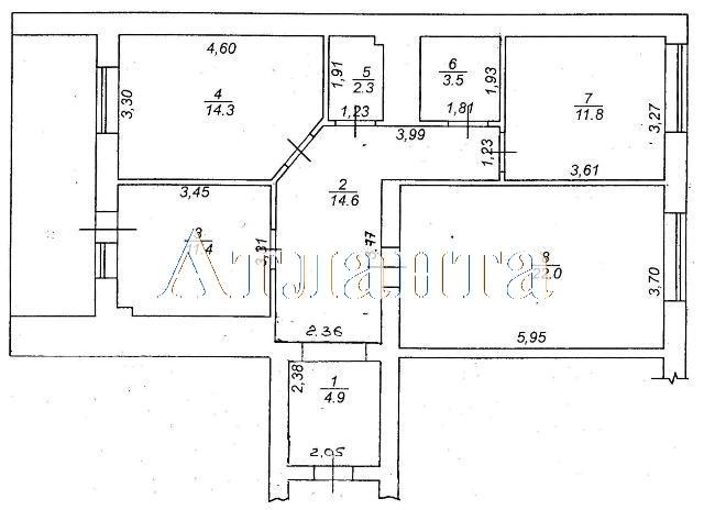Продается 3-комнатная квартира в новострое на ул. Коралловая — 81 900 у.е. (фото №2)