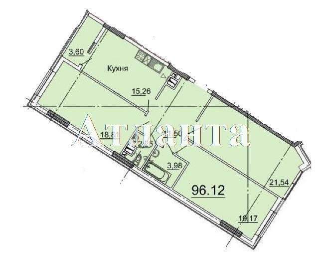 Продается 3-комнатная квартира в новострое на ул. Фонтанская Дор. — 86 260 у.е.