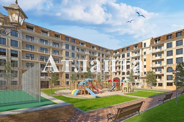 Продается 1-комнатная квартира в новострое на ул. Дача Ковалевского — 41 540 у.е. (фото №2)