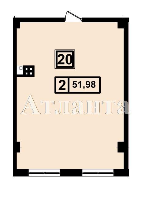 Продается 1-комнатная квартира в новострое на ул. Генуэзская — 49 380 у.е. (фото №3)