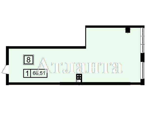 Продается 1-комнатная квартира в новострое на ул. Генуэзская — 63 180 у.е. (фото №3)