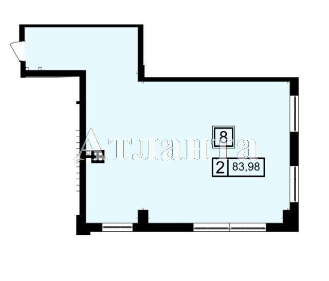 Продается 2-комнатная квартира в новострое на ул. Генуэзская — 79 780 у.е. (фото №3)