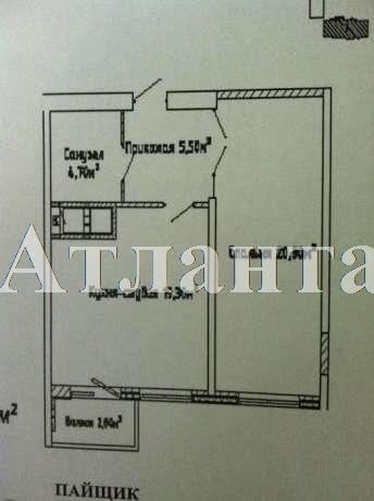Продается 1-комнатная квартира в новострое на ул. Люстдорфская Дорога — 45 000 у.е. (фото №2)