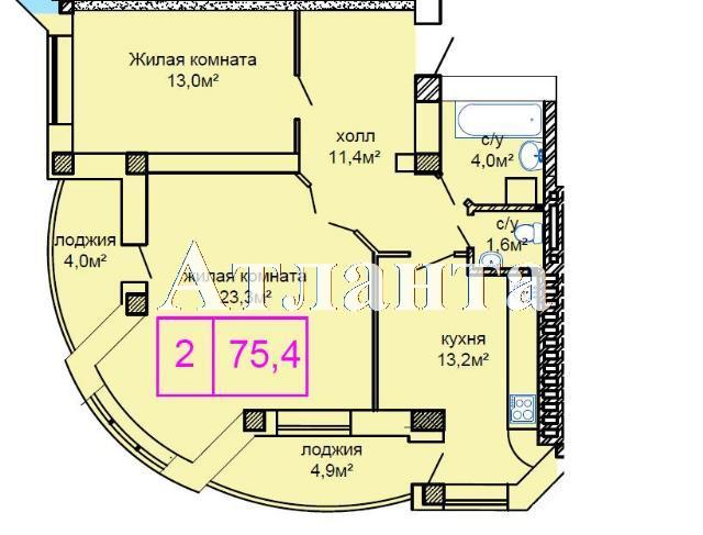 Продается 2-комнатная квартира в новострое на ул. Костанди — 60 000 у.е. (фото №4)