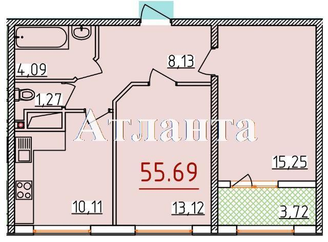 Продается 2-комнатная квартира в новострое на ул. Бассейная — 30 000 у.е.