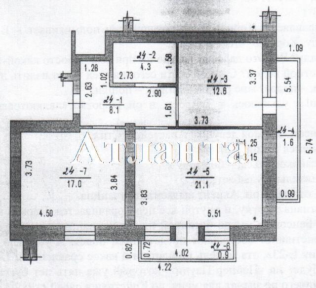 Продается 2-комнатная квартира в новострое на ул. 40 Лет Победы — 45 920 у.е.