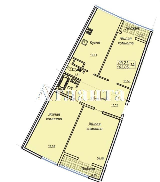 Продается 1-комнатная квартира в новострое на ул. Генуэзская — 87 330 у.е. (фото №6)