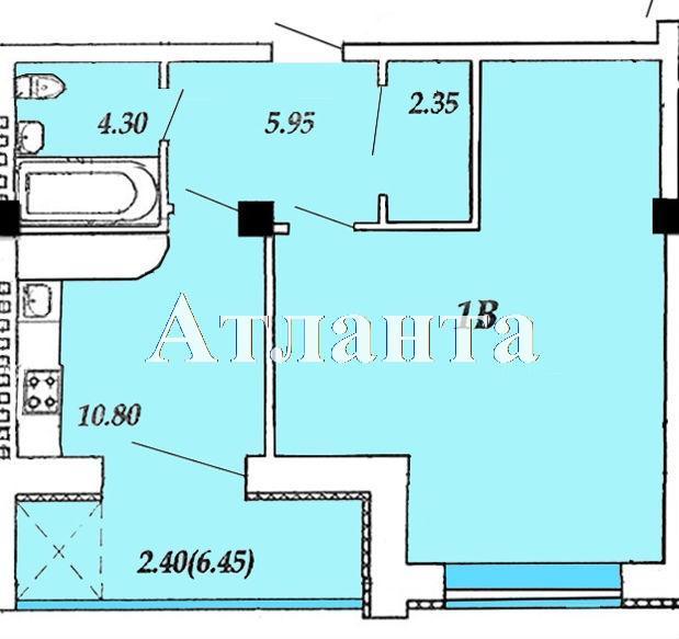 Продается 1-комнатная квартира в новострое на ул. Массив 23/35 — 34 520 у.е. (фото №4)