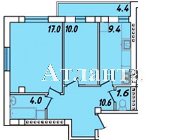 Продается 1-комнатная квартира в новострое на ул. Массив 23/35 — 34 450 у.е. (фото №4)