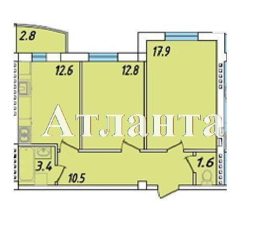 Продается 1-комнатная квартира в новострое на ул. Массив 23/35 — 42 450 у.е. (фото №4)