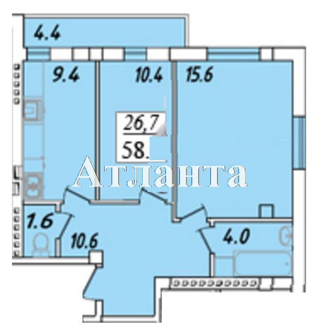 Продается 1-комнатная квартира в новострое на ул. Массив 23/35 — 34 980 у.е. (фото №4)