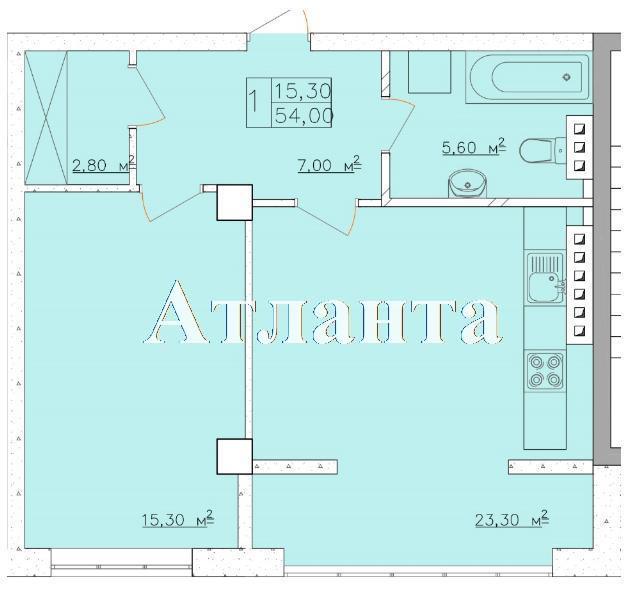 Продается 1-комнатная квартира в новострое на ул. Дача Ковалевского — 35 100 у.е. (фото №4)