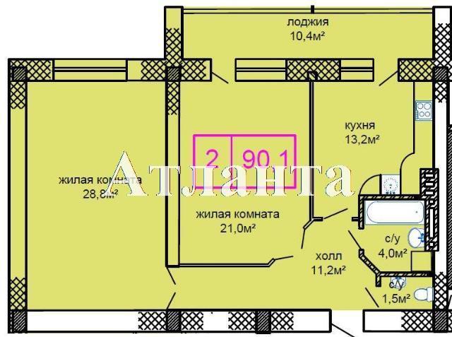 Продается 2-комнатная квартира в новострое на ул. Костанди — 79 000 у.е. (фото №5)