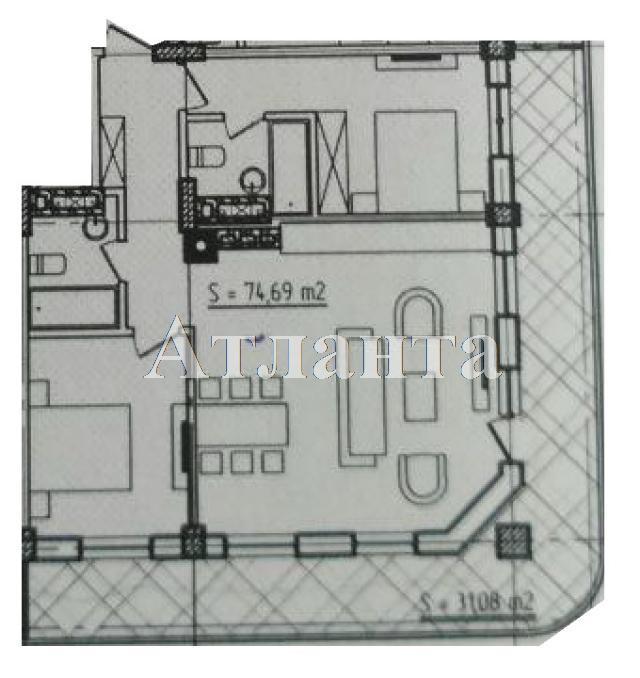 Продается 1-комнатная квартира в новострое на ул. Азарова Вице Адм. — 90 190 у.е. (фото №3)
