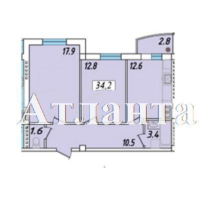 Продается 1-комнатная квартира в новострое на ул. Массив 23/35 — 35 510 у.е. (фото №4)