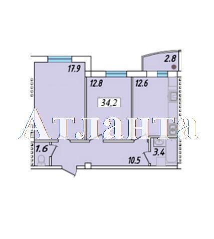 Продается 1-комнатная квартира в новострое на ул. Массив 23/35 — 43 550 у.е. (фото №4)