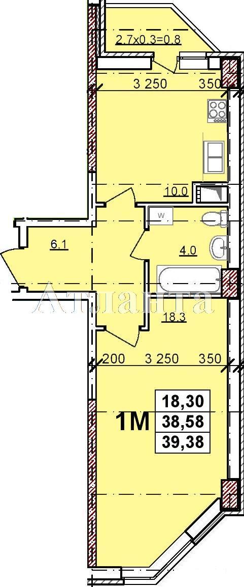 Продается 1-комнатная квартира в новострое на ул. Балковская — 26 650 у.е. (фото №2)