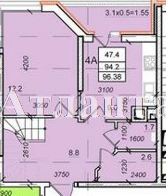 Продается 4-комнатная квартира в новострое на ул. Балковская — 54 030 у.е. (фото №2)