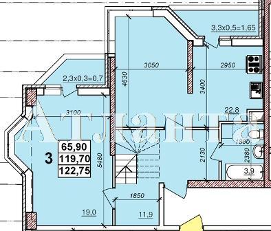 Продается 3-комнатная квартира в новострое на ул. Балковская — 71 690 у.е.
