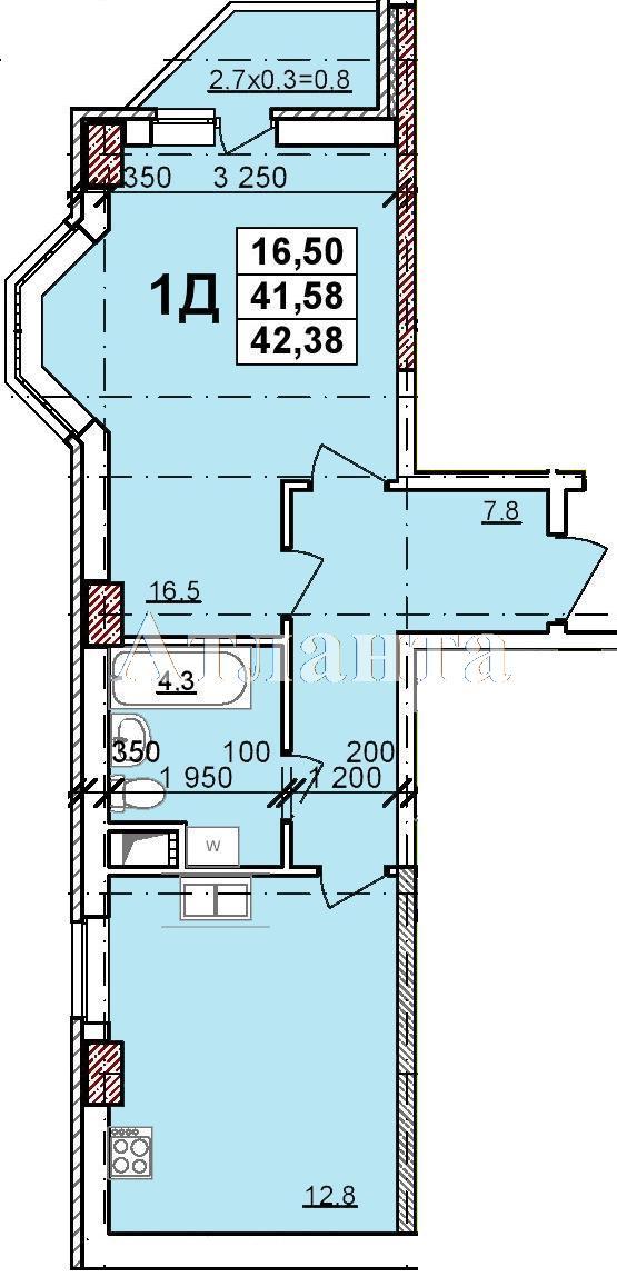 Продается 1-комнатная квартира в новострое на ул. Балковская — 31 290 у.е. (фото №2)