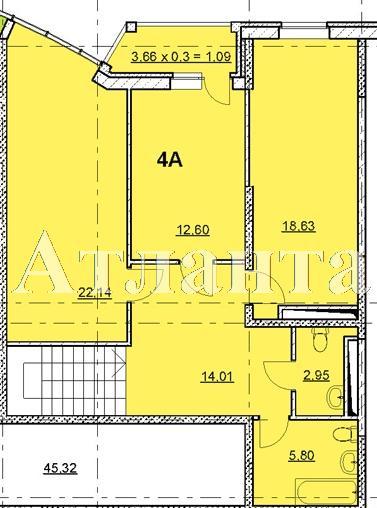 Продается 4-комнатная квартира в новострое на ул. Гагаринское Плато — 160 550 у.е. (фото №5)
