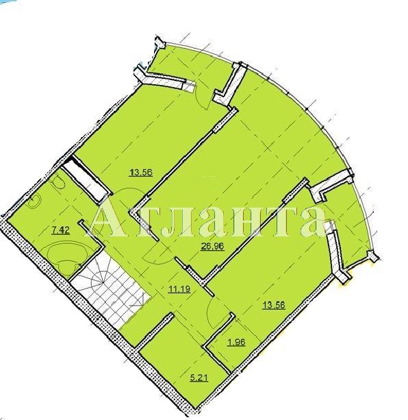 Продается 5-комнатная квартира в новострое на ул. Гагаринское Плато — 161 380 у.е. (фото №4)