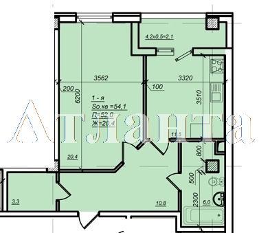 Продается 1-комнатная квартира в новострое на ул. Дюковская — 47 020 у.е. (фото №3)