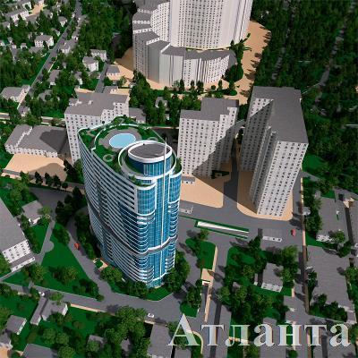 Продается 1-комнатная квартира в новострое на ул. Новобереговая — 61 300 у.е.