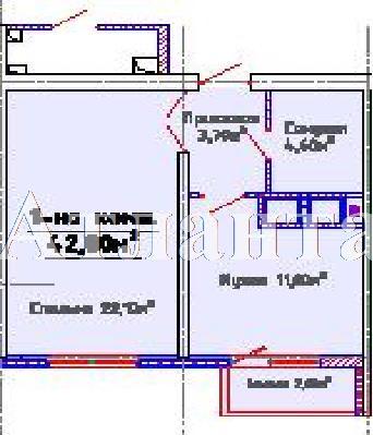 Продается 1-комнатная квартира в новострое на ул. Люстдорфская Дорога — 31 640 у.е.