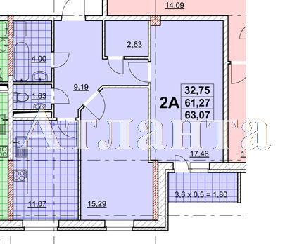 Продается 2-комнатная квартира в новострое на ул. Жаботинского — 40 880 у.е. (фото №4)