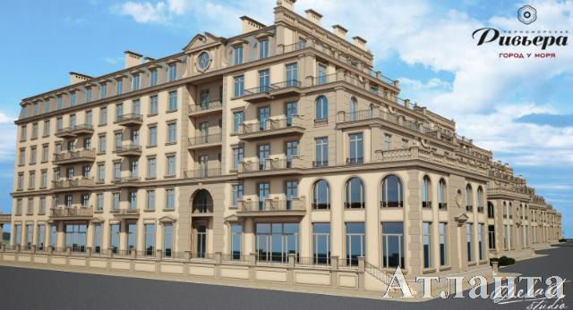 Продается 3-комнатная квартира в новострое на ул. Греческая — 78 530 у.е. (фото №2)
