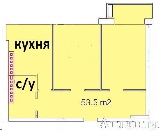 Продается 2-комнатная квартира в новострое на ул. Греческая — 61 720 у.е. (фото №3)
