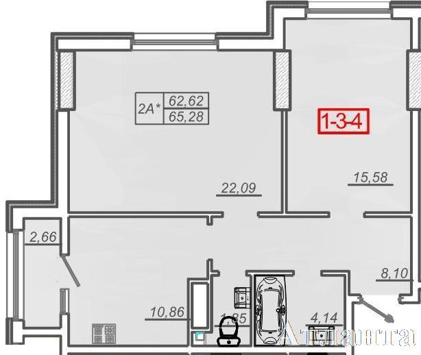 Продается 2-комнатная квартира в новострое на ул. Жм Дружный — 47 000 у.е. (фото №2)