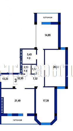 Продается 3-комнатная квартира в новострое на ул. Софиевская — 75 700 у.е.