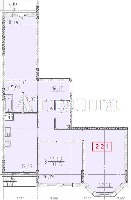 Продается 3-комнатная квартира в новострое на ул. Фонтанская Дор. — 105 700 у.е. (фото №4)
