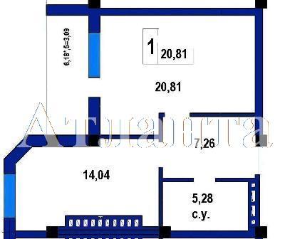 Продается 1-комнатная квартира в новострое на ул. Софиевская — 42 600 у.е.