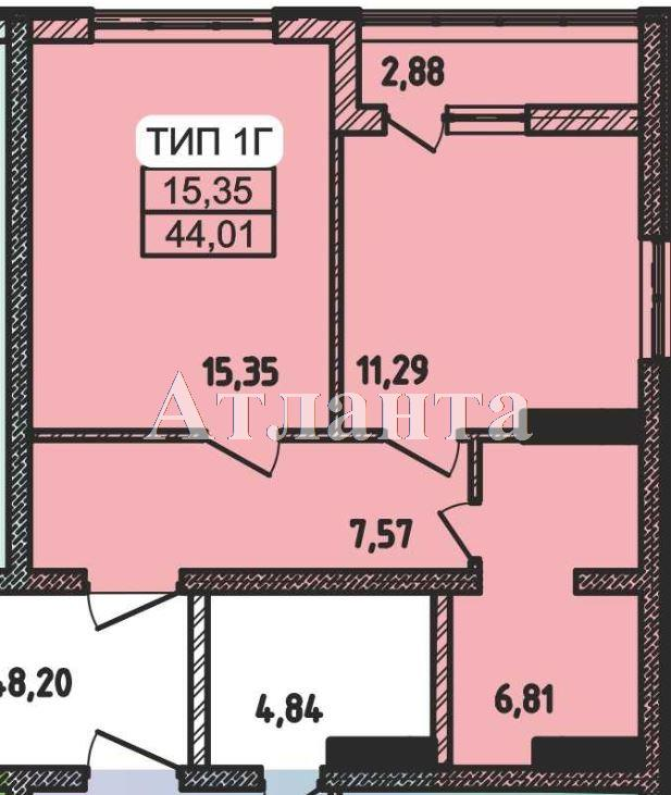 Продается 1-комнатная квартира в новострое на ул. Пестеля — 25 000 у.е. (фото №4)