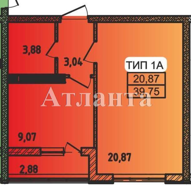 Продается 1-комнатная квартира в новострое на ул. Пестеля — 22 600 у.е. (фото №4)