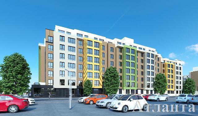 Продается 3-комнатная квартира в новострое на ул. Заболотного Ак. — 56 100 у.е. (фото №2)