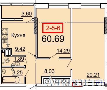 Продается 2-комнатная квартира в новострое на ул. Фонтанская Дор. — 53 500 у.е. (фото №3)
