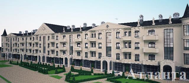 Продается 1-комнатная квартира в новострое на ул. Руанский Пер. — 64 400 у.е. (фото №3)