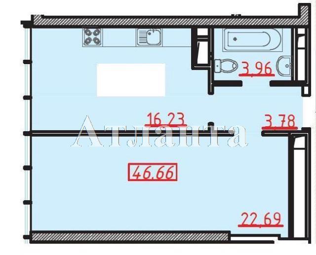 Продается 1-комнатная квартира в новострое на ул. Большая Арнаутская — 63 000 у.е. (фото №3)