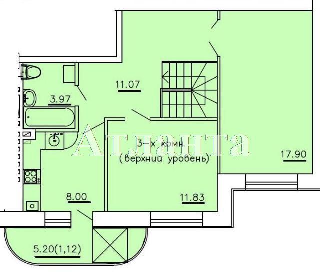 Продается Многоуровневая квартира в новострое на ул. Бочарова Ген. — 48 300 у.е. (фото №3)