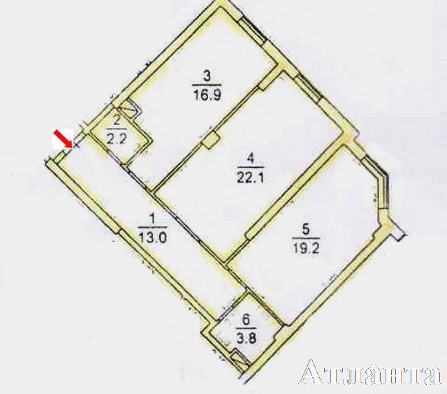 Продается 2-комнатная квартира в новострое на ул. Проценко — 43 500 у.е. (фото №3)