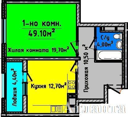 Продается 1-комнатная квартира в новострое на ул. Генуэзская — 77 000 у.е. (фото №4)