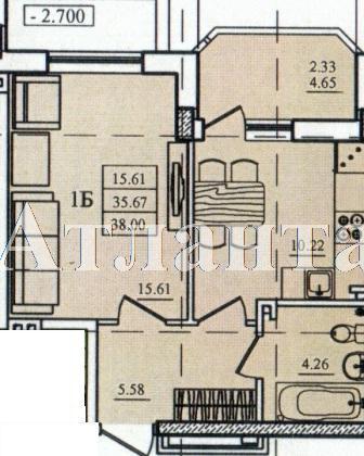 Продается 1-комнатная квартира в новострое на ул. Николаевская — 29 000 у.е.