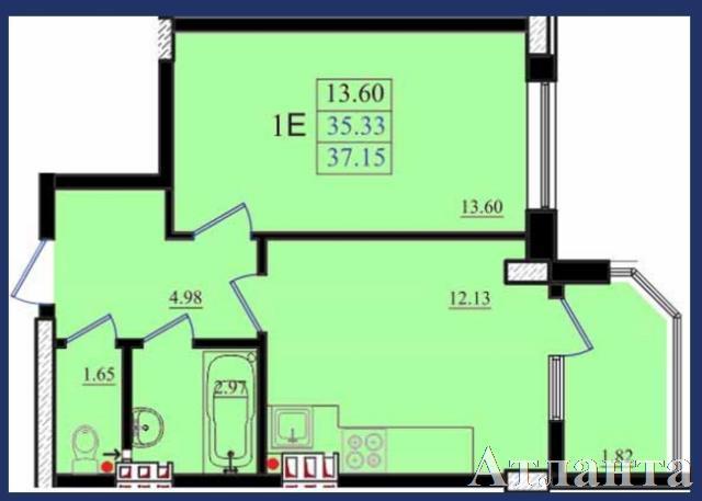 Продается 1-комнатная квартира в новострое на ул. Николаевская — 23 700 у.е. (фото №2)