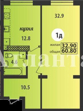 Продается 1-комнатная квартира в новострое на ул. Марсельская — 41 670 у.е. (фото №3)