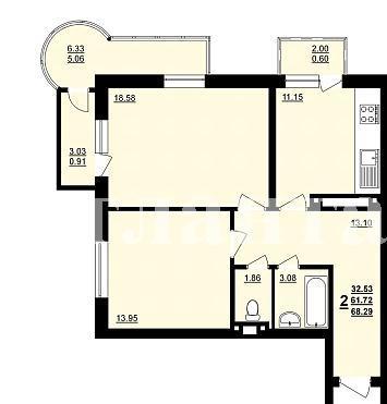 Продается 2-комнатная квартира в новострое на ул. Днепропетр. Дор. — 41 200 у.е. (фото №4)